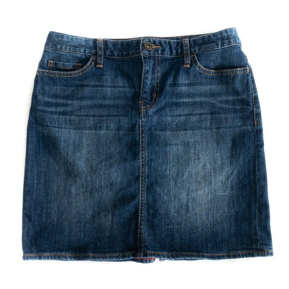 Tommy Hilfiger Mini Jean Skirt - Size 4